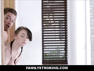 Annoying Teen Stepsister Fucked By Brother 8 min